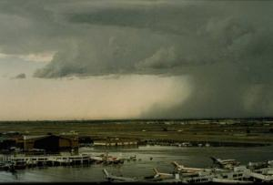 Wet Microburst at Denver Stapleton Airport