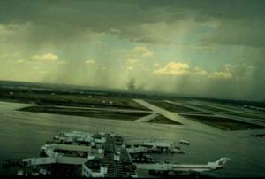 Microburst at Denver Stapleton Airport