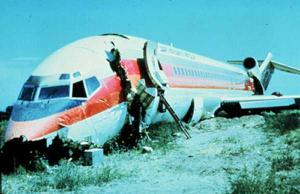 Airplane crash due to windshear