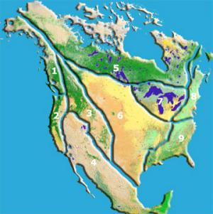 To illustrate the potential effects of climate change on various water regions in North America, Dr. Miller devised the map here. Click on the region you wish to know more about. Map source: Intergovernmental Panel on Climate Change (IPCC), Working Group II Third Assessment Report.