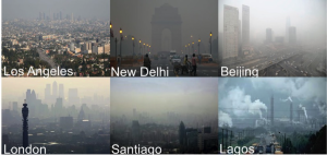 Air pollution is a global problem