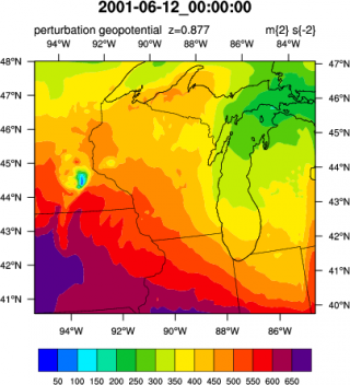 WRF Model Output
